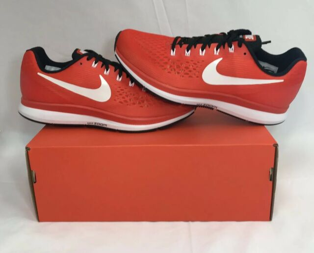 outlet store dd93d 9c8a8 Nike Air Zoom Pegasus 34 TB Turbo Running Shoe Team Orange/white-black 13