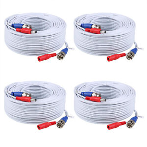 ANNKE-25-50-60-100-150ft-HD-Video-Power-Cable-BNC-RCA-for-Security-Camera-System