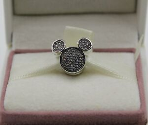18547c89b Image is loading AUTHENTIC-PANDORA-Disney-Mickey-Mouse-Ears-clip -7501055891079P-