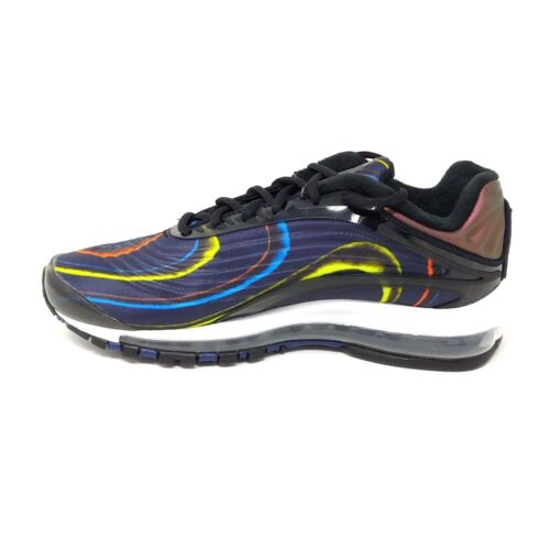 Noir Marine Minuit De Deluxe Max Hommes Air Taille Baskets 8 Nike Argent IqnwYCtx