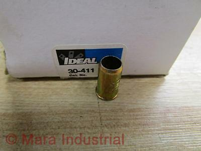 50//box Ideal 30-411 Steel Crimp Connector Model 411 18-8 AWG
