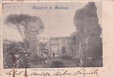 ARGENTINA - Recuerdo de Mendoza - Ruinas - Terremoto del Ano 1861