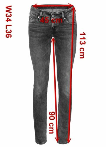 Mustang Emily JEANS donna stretch w26-to-w34 used wash