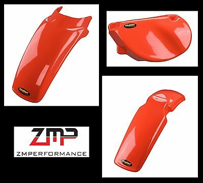 Maier 135002 Rear Fender Red Fits 77-78 XR75 and 79-82 XR80