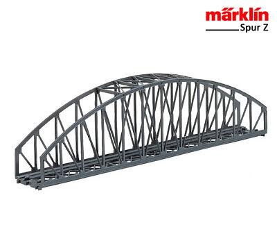 Abile Märklin Z 8975 Ponte Di Arco 220 Mm + + Nuovo In Scatola Originale-mostra Il Titolo Originale