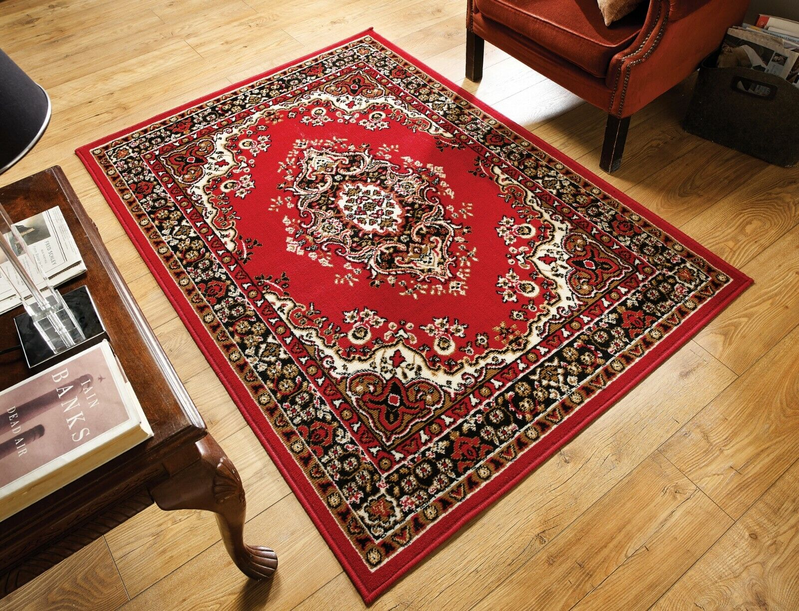 Traditional Rug Red 180 X 250 Cm
