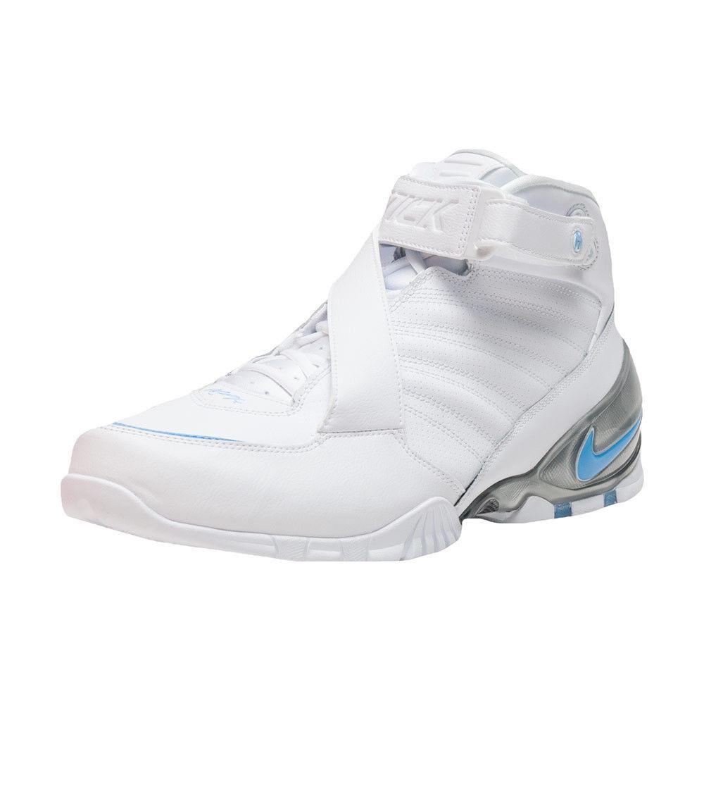 Size 15 Nike Men Air Zoom Vick III 3 shoes 832698 100 White bluee