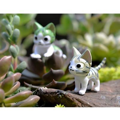 Micro Landscape Resin Bonsai Dollhouse Fairy Garden Decor Christmas Cat