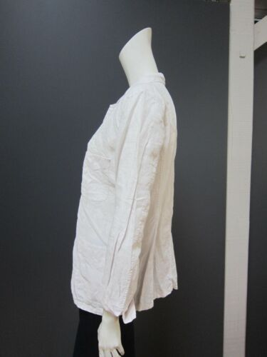 New With Size White Linen 4 Tag 100 45rpm Jacket Off qvBOWc4np