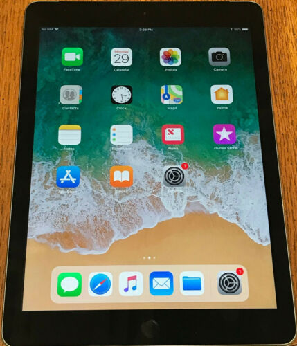Wi-Fi Apple iPad 5th Gen 9.7in Space Gray Verizon 32GB Cellular