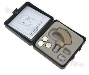 Mini-Digital-Hearing-Aid-Kit-Adjustable-Behind-in-Ear-Sound-Voice-Amplifier-Case