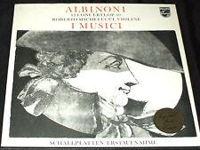 ALBINONI 12 CONCERTI I MUSICI ROBERTO MICHELUCCI violin PHILIPS LP BOX SET mint