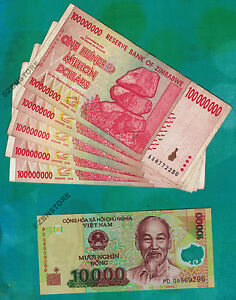 Dollars Aa 1 X 10 000 Vietnam Dong