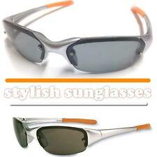 Sonnenbrille mit gummierten flexiblen Bügeln (Sportbrille;Rad/Fahrrad/Ski-Brille