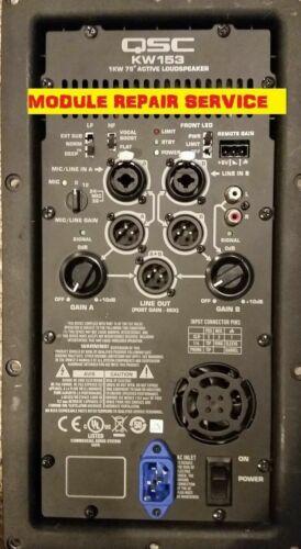 QSC K KW KLA K.2 Module Repair ServiceK8//K10//K12//KW122//KW152//KW153//KW181//KLA//K.2