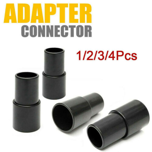 4xUniversal Vacuum Cleaner Hose Tube Adapter Converter Accessories Set 32~35mm