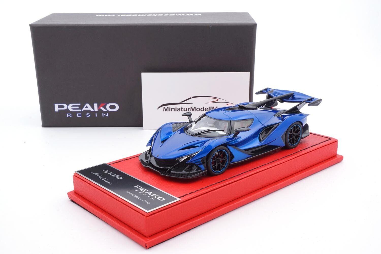 Peako Apollo Automobile Apollo ie-Metallic bluee - 1 43