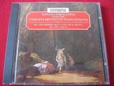 BEETHOVEN COMPLETE PIANO SONATAS VOL 1 - NIKOLAYEVA - OLYMPIA (CD 1994 UK)
