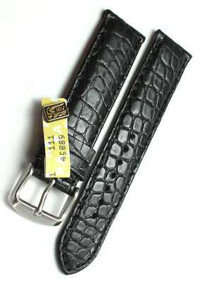Dynamisch 19mm /18mm Xs Echt Alligator Swiss Watch Bunz Band Louisiana Krokoband 105x71mm