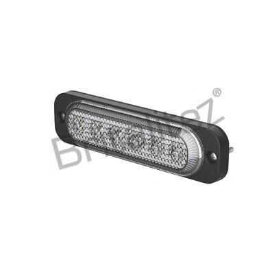 ECE R10 R65 6LED Amber Britalitez Ultra Thin 5W Grille//Direction Strobe Light