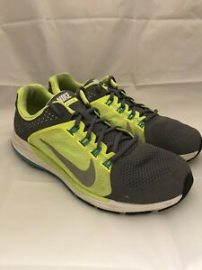 1bb8254360f31 Nike ZM Zoom Elite 6 Running Shoes Men s Size US 10 grey day glow