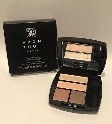 Avon True Barely Blush Eyeshadow Quad Perfect Wear   eBay