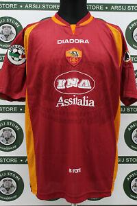 Maglia-calcio-ROMA-BALBO-TG-M-1997-98-shirt-trikot-maillot-jersey-camiseta
