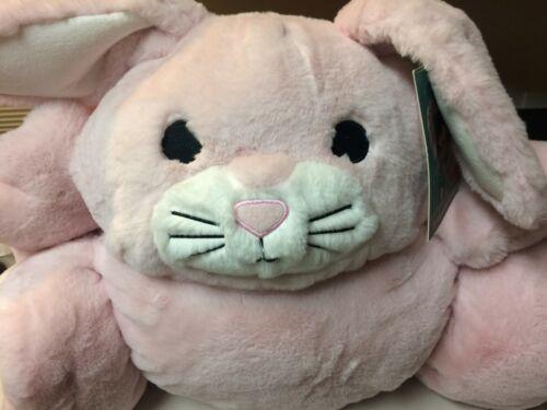 """FROLICS Kids Collection PINK BUNNY Soft Plush Sleeping Bag 29"""" X 68"""""""