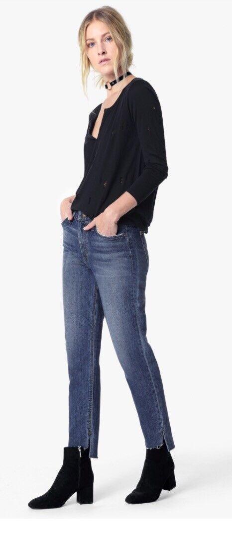 JOE'S High Rise Boyfriend Slim Ankle Jeans Size 24