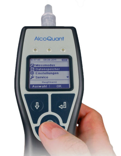 Alkoholtester EnviteC AlcoQuant 6020 plus Promilletester Polizei Honeywell