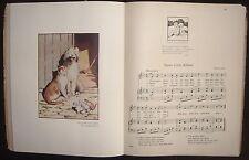 A NURSERY GARLAND WOVEN BY KITTY CHEATHAM MUSIC GRAHAM ROBERTSON ILLUSTRATED
