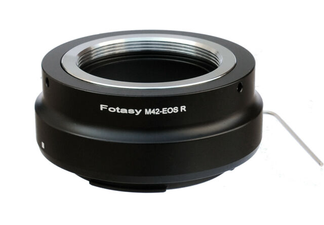 M42 42mm Screw Mount Lens to Canon EOS R RP Mirrorless Camera Adapter