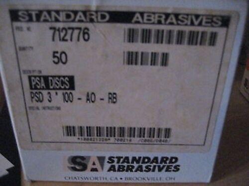 """3/"""" X 100 GRIT PSA DISC A554-50"""