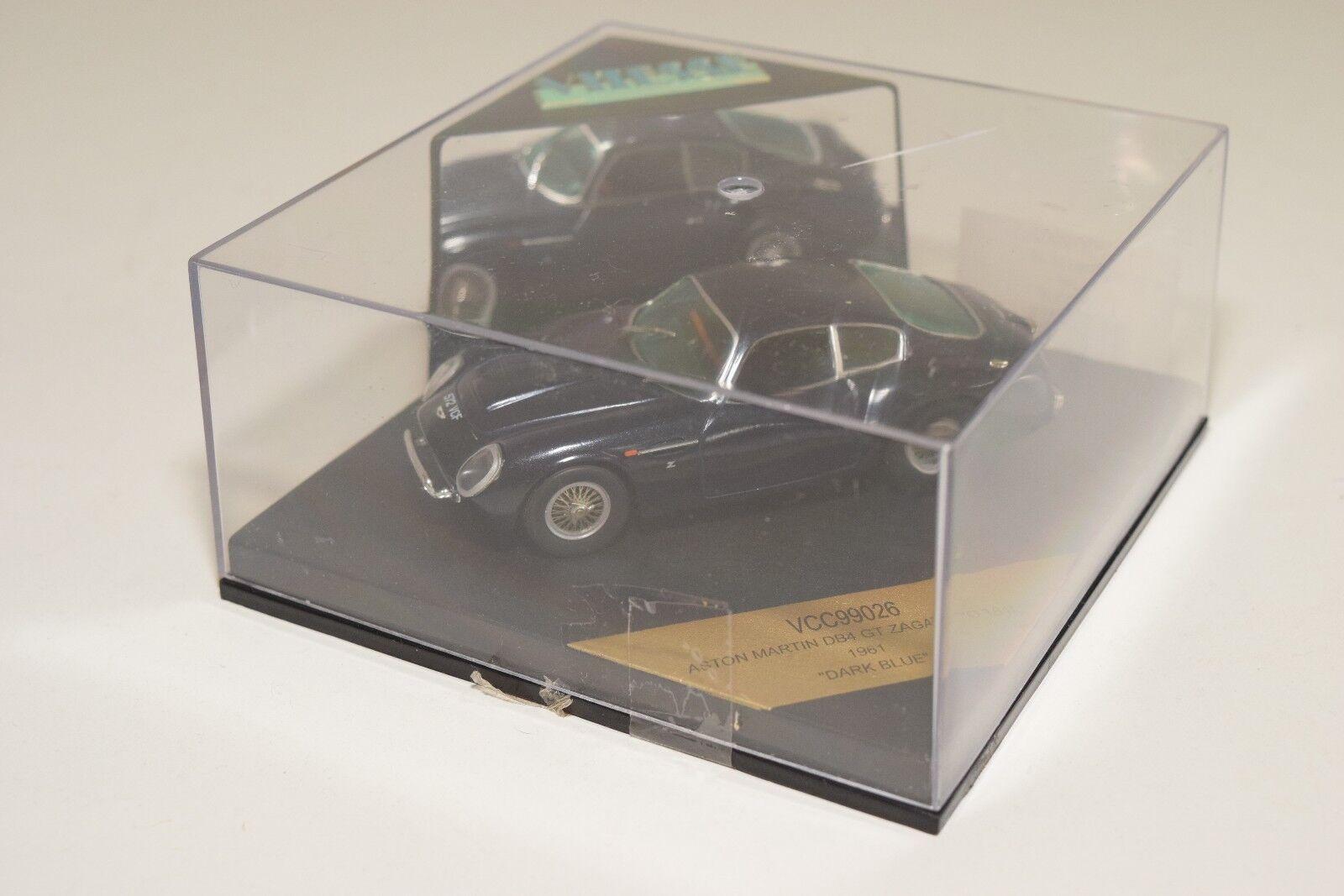aston martin db4 gt zagato vitesse vcc99026 1961 dunkelblau - boxen