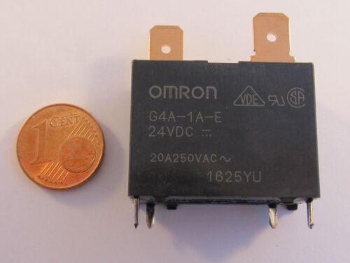 1 pezzi g4a-1a-e-24vdc OMRON relè 1 normalmente aperto 20a 24vdc