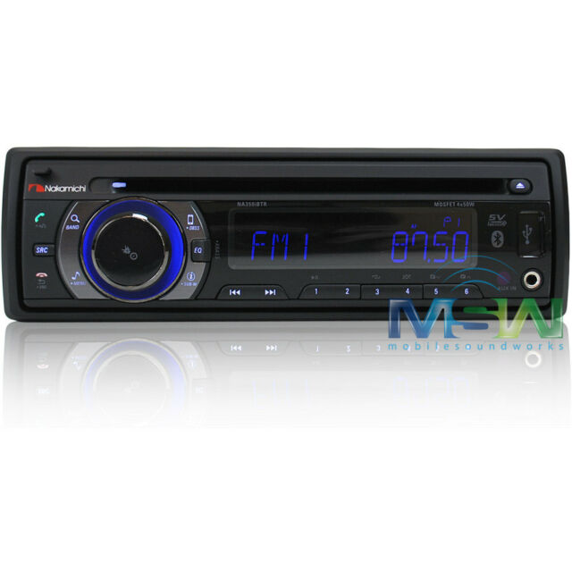 NEW NAKAMICHI NA350iBTR In-DASH CD USB BLUETOOTH CAR STEREO RECEIVER NA-350iBTR