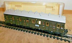 Trix-Express-H0-33343-Personenwagen-2-3-Kl-der-DRG-Metallachsen-makellos-OVP
