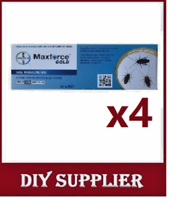 4-x-35g-MAXFORCE-GOLD-Cockroach-Roach-Bait-Gel