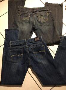 Styles Femme Monica's Fr 2 De Differents Et Ddp Lot Jeans Taille 40 4tv7wa1