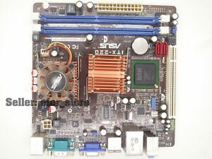 Details about Asus ITX-220 Mini ITX MotherBoard CPU onboard