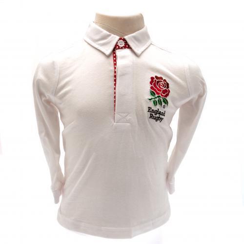 England rugby Baby Top oder T Shirt 100/% Offiziell Rfu Artikel Baumwolle