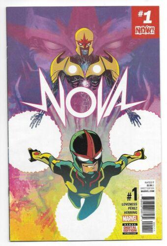 Marvel Comics NOVA #1 first printing
