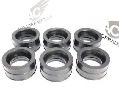 Cosciente Honda Cbx 1000 Cb1 Insulator Manifold Cylinder Head To Carburetor Carburator-