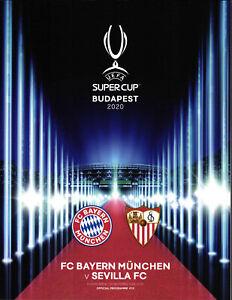 European Super Cup 24.09.2020 FC Bayern Munich-Séville FC à Budapest
