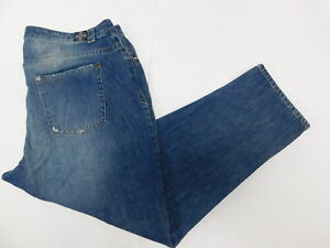 Womens-Lane-Bryant-22-Regular-Denim-Jeans-Blue-Straight-Cotton