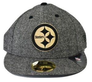Pittsburgh Steelers New Era 59Fifty LOW PROFILE Cap
