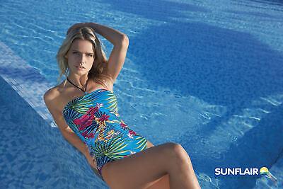 Sunflair Donna Costume Da Bagno Colorato Nuovo-mostra Il Titolo Originale