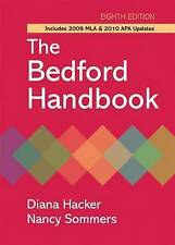 The The Bedford Handbook with 2009 MLA and 2010 APA Updates-ExLibrary