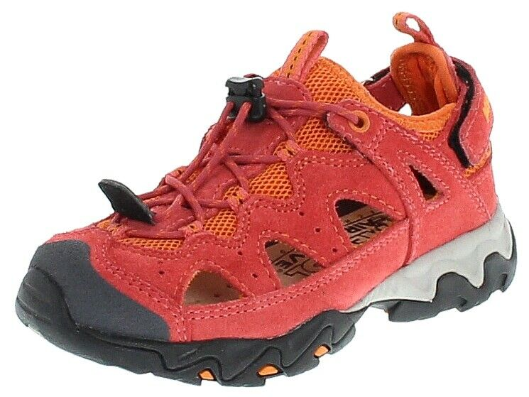 Meindl 2056-69 Rudy Junior Magenta Orange  Kinder Wanderschuhe Rot  Activity  Fr