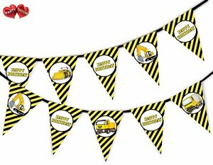 Happy-Birthday-Construction-Plant-Bunting-Banner-15-flags-by-PARTY-DECOR